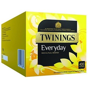 Image of Twinings Everyday Teabags Ref A07964 [Pack 400]