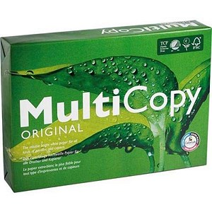 Image of Multicopy A3 Paper / White / 160gsm / 250 Sheets