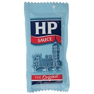 Image of Heinz HP Sauce Sachets - Pack of 200