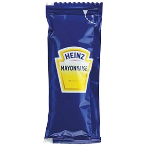 Image of Heinz Free Range Mayonnaise Sachets - Pack of 200