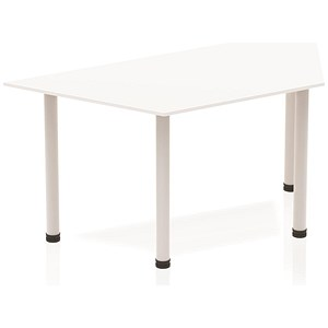 Image of Sonix Trapezoidal Table / 1600mm / White