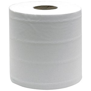 Image of Maxima Centrefeed Rolls / 3-Ply / White / Pack of 6