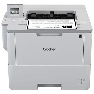 Image of Brother HL-L640DW Mono Laser Printer 50ppm WiFi Duplex Touchscreen LCD Ref HLL6400DWZU1