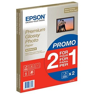 Image of Epson A4 Premium Glossy Photo Paper / 255gsm / Pack of 30
