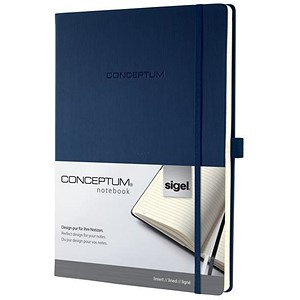 Image of Sigel Concept Notebook / A4 / Hardcover / 194 Pages / Blue