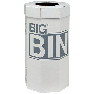 Image of Acorn Large Bin / Flat Packed / Recycled Board / 160 Litres / Pack of 5