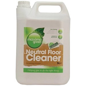 Image of Maxima Green Neutral Floor Cleaner / 5 Litres / Pack of 2