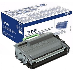 Image of Brother TN3520 Laser Toner Cartridge Ultra High Yield Page Life 12000pp Black Ref TN3520