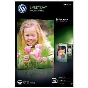 Image of HP A4 Advance Glossy Photo Paper / 100x150mm / 200gsm / Pack of 200