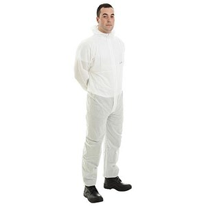 Image of Supertouch Supertex SMS Coverall / 5/6 Protection / XXXL / White