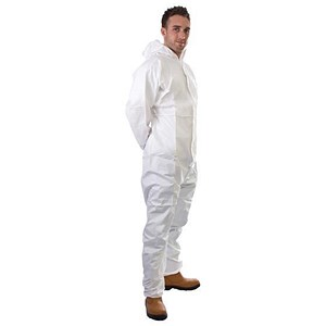 Image of Supertouch Supertex Plus Coverall / 5/6 Protection / Medium / White