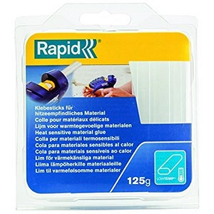 Image of Rapid Low Heat Glue Sticks / 125g / Pack of 14