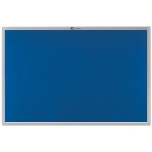 Image of Nobo Euro Plus Noticeboard / Aluminium Trim / W924xH615mm / Blue