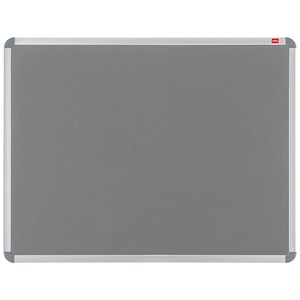 Image of Nobo Euro Plus Noticeboard / Aluminium Trim / W1226xH918mm / Grey