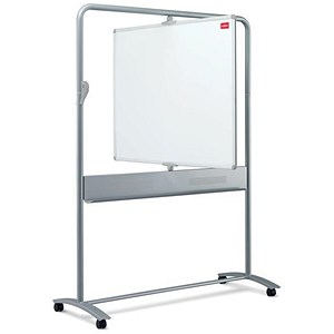 Image of Nobo Mobile Magnetic Whiteboard Easel / Vertical Pivot / W1200xH900mm