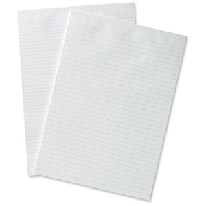 Image of Silvine Office Headbound Memo Pad / A4 / Ruled / 160 Pages / Pack of 10