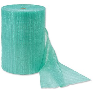 Image of Jiffy Bubble Wrap Roll Green - 750x75m