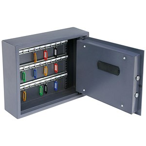 Image of High Security Key Safe with Electronic Key Pad and 30mm Double Bolt Locking 30 Keys