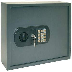 Image of High Security Key Safe with Electronic Key Pad and 30mm Double Bolt Locking 60 Keys