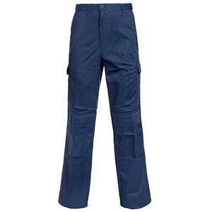 Image of Combat Trousers / Velcro Pockets / Waist: 40in, Leg: 33in / Navy