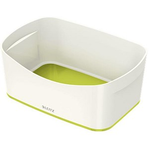 Image of Leitz MyBox Storage Tray / A5 / White & Green