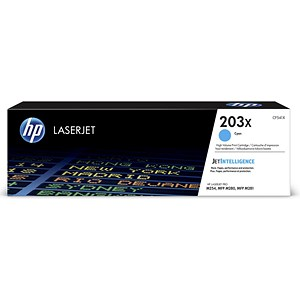 Image of Hewlett Packard [HP] No. 203X Laser Toner Cartridge Page Life 2500pp Cyan Ref CF541X