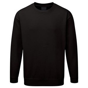 Image of Supertouch Sweatshirt / Black / Small