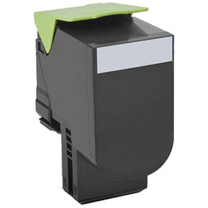 Image of Lexmark 80C20C0 Return Program Black Toner Cartridge