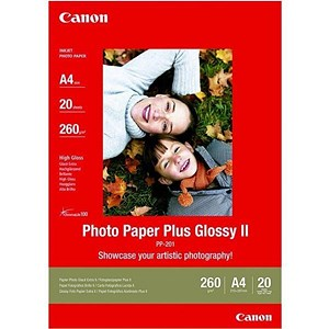 Image of Canon PP-201 A4 Glossy Photo Paper / 265gsm / Pack of 20