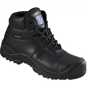 Image of Rock Fall Proman Waterproof Boot / Leather / Size 12 / Black