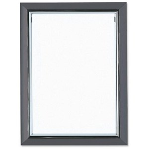 Image of Deluxe Certificate Frame Non Glass Holds A4 Grey