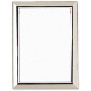 Image of Deluxe Certificate Frame Non Glass Holds A4 Silver