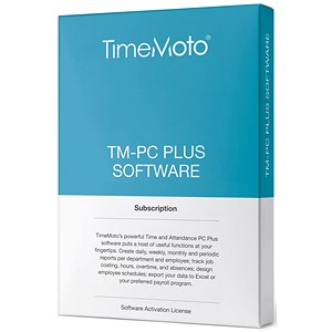 Image of Safescan TimeMoto TM PC Time & Attendance System Software Plus - Unlimited Users
