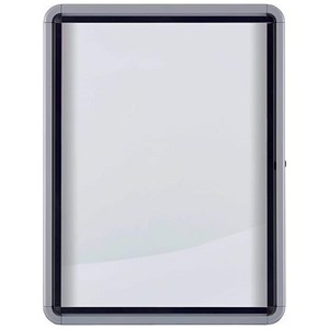 Image of Nobo Outdoor Noticeboard with Lockable Glazed Case / 9xA4 / W792xD85xH1040mm