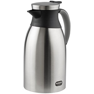 Image of Insulated Vacuum Jug with Stainless Steel Liner / Leakproof / 1.8 Litre