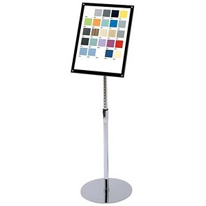 Image of Heavyweight Floor Standing Sign Holder / Bevel Magnetic Cover / A3