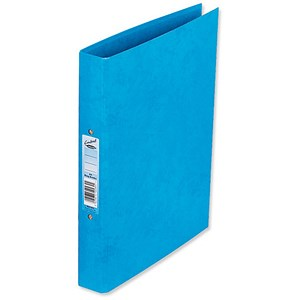 Image of Concord Contrast Ring Binder / 2 O-Ring / 40mm Spine / 25mm Capacity / A4 / Sky Blue / Pack of 10