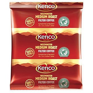 Image of Kenco Westminster Coffee Sachets 3 Pints per 65g Sachet Ref A07356 [Pack 10]