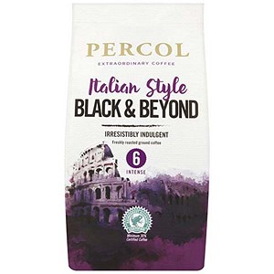 Image of Percol Fairtrade Italiano Ground Coffee Organic Medium Roasted 227g Ref A07359