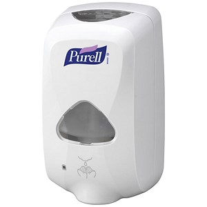 Image of Purell TFX-12 Touch-free Dispenser - White