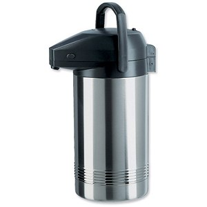 Image of Stainless Steel Pump Pot Vacuum Jug / 3.8L