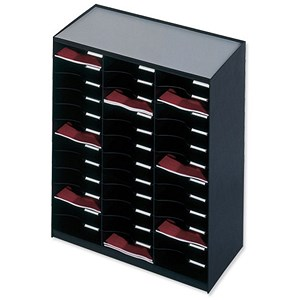 Image of Paperflow Modulodoc Mailsorter / 36 x A4 Compartments / Black