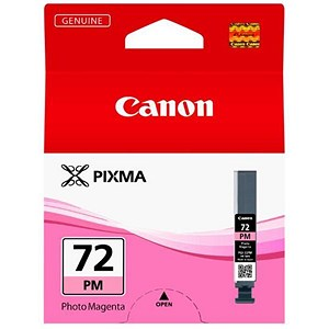 Image of Canon PGI-72 Inkjet Cartridge Page Life 303pp Photo Magenta Ref 6408B001