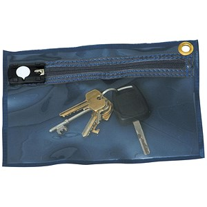 Image of Tamper Evident Key Wallet 230x152mm Blue