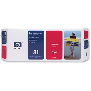 Image of HP 81 Magenta Ink Cartridge