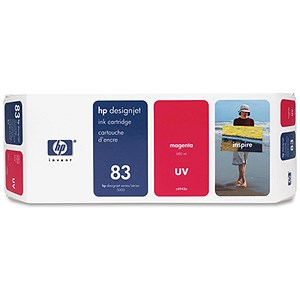 Image of HP 83 Magenta UV Ink Cartridge