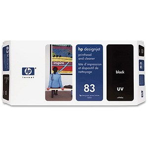 Image of HP 83 Black UV Printhead and Printhead Cleaner