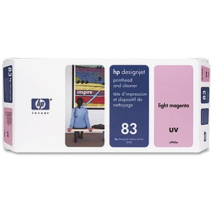Image of HP 83 Light Magenta UV Printhead and Printhead Cleaner