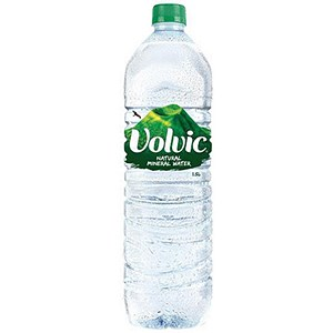 Image of Volvic Natural Mineral Water - 12 x 1.5 Litre Plastic Bottles
