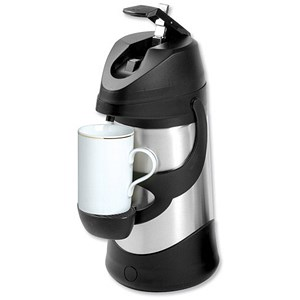 Image of Stainless Steel Pump Vacuum Jug / Dishwasher Safe / 1.9 Litre